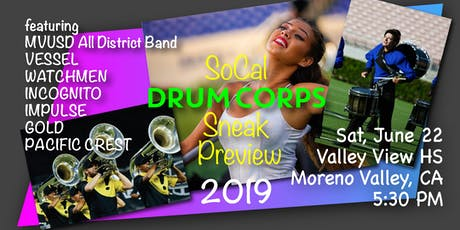 2019 SoCal Drum Corps Preview tickets