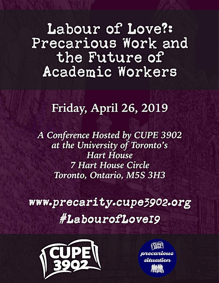 Labor of Love?: Precarious Work and the Future of Academic Workers image