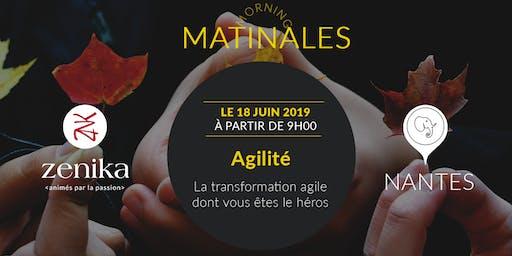 """Matinale """"La transformation agile dont vous êtes le héros"""" - Nantes"""