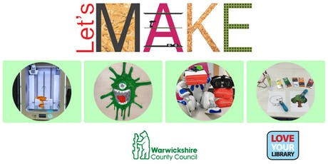 Let's Make 3D at Rugby Library tickets