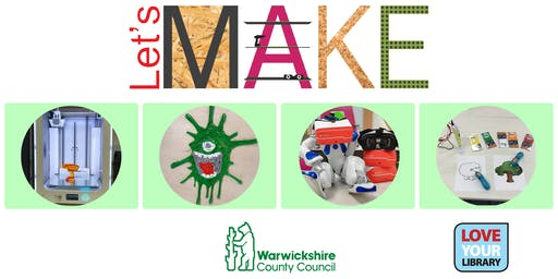 Let's Make 3D at Rugby Library