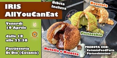 All You Can Eat di IRIS: pistacchio, nocciola, ricotta e nutella