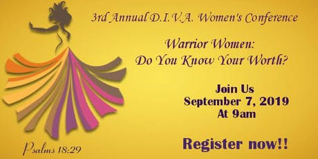 3rd Annual D.I.V.A. Women's Conference  tickets