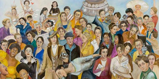 Leading the Way: A Tribute to Women of the 20th Century Exhibit