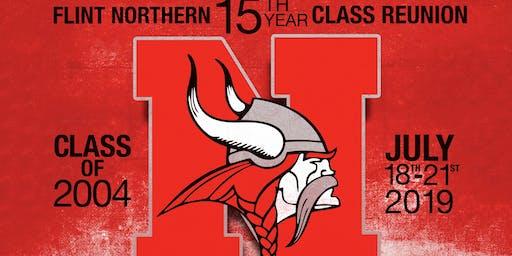 15th year Class Reunion Flint Northern C/O2004