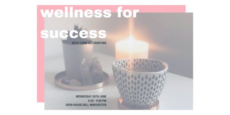 Wellness For Success, with Cone Accounting tickets