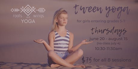 Tween Yoga tickets
