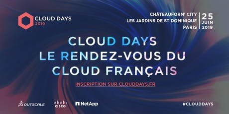 CLOUD DAYS 2019 billets