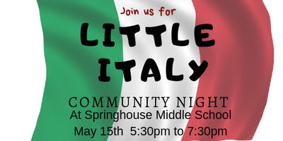 Little Italy at Springhouse Middle School