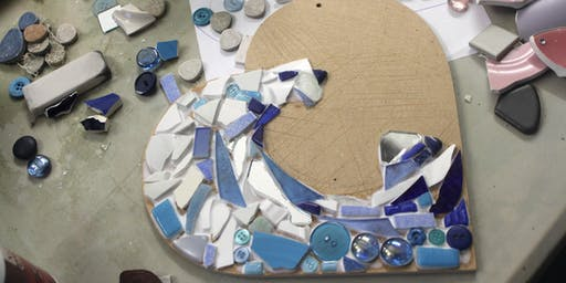 Mosaic Workshop at The Craft Barn