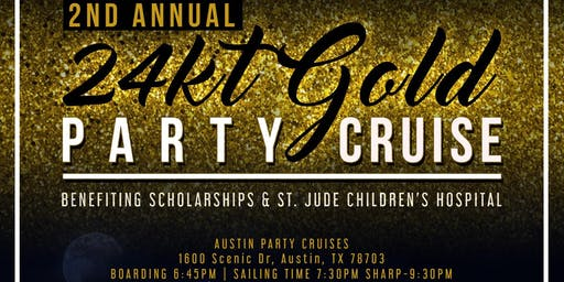 24kt Gold Party Cruise
