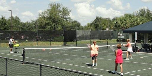 Ladies Beginner Tennis Class