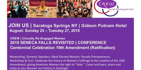 2019 SENECA FALLS REVISITED CONFERENCE & RETREAT tickets