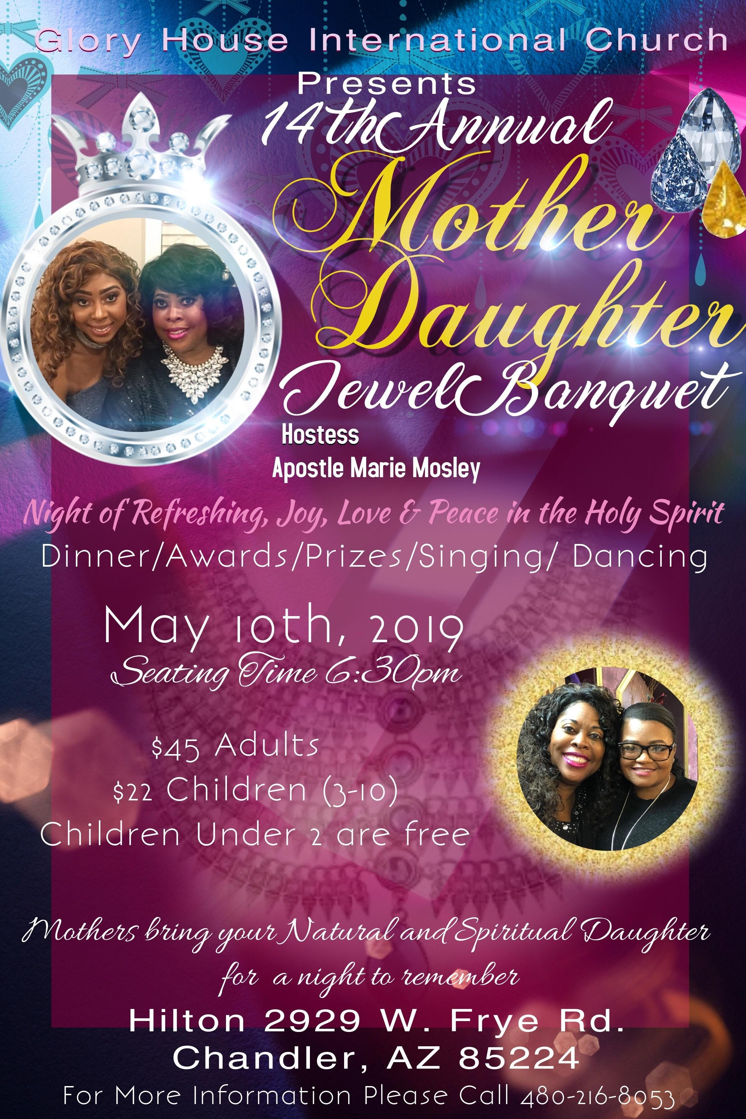 14th Annual Mother-Daughter Jewel Banquet