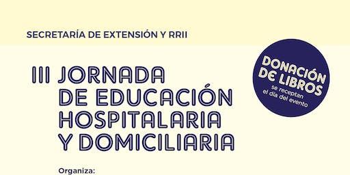III Jornada de Educación Hospitalaria y Domiciliaria