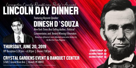 2019 Livingston County Republican Party Lincoln Day Dinnery tickets