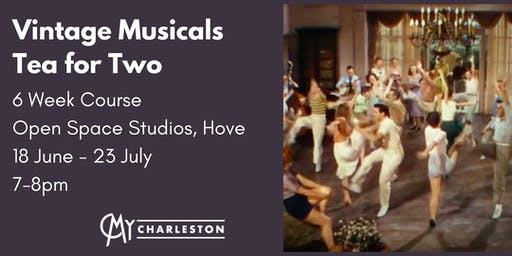 Vintage Musicals: 'Tea for Two' Charleston Dance, Hove