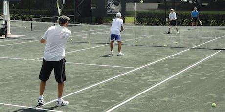 Men's Tennis Clinic tickets