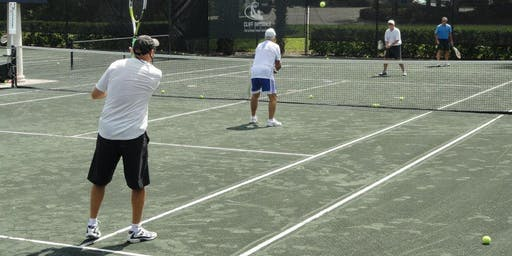Men's Tennis Clinic