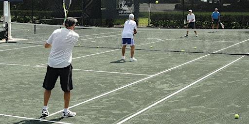 Men's Tennis Clinic