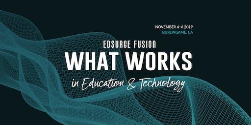 EdSurge Fusion 2019