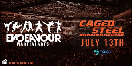 Caged Steel 23 - Endeavour Ticket Link tickets