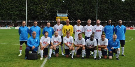 HAD TEAM Vs SPURS LEGENDS CHARITY FOOTBALL MATCH  tickets