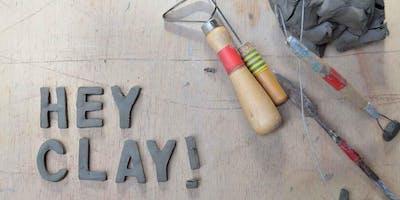 Hey Clay! Free Pottery workshop - Teddy bears picnic.