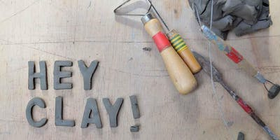 Hey Clay! Free Pottery workshop - Fictional Characters.