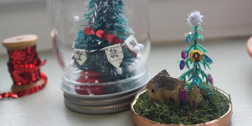 Snow Globes Workshop at The Craft Barn