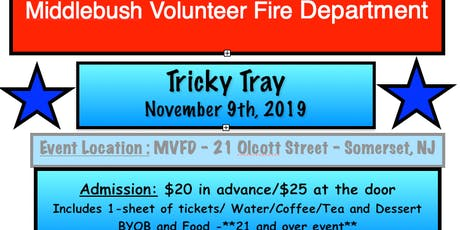 MVFD TRICKY TRAY tickets