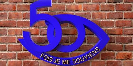 Soirée mondaine | 50e anniversaire de l'école secondaire Polybel billets