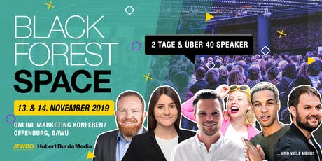 Black Forest Space 2019 billets