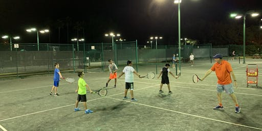 Elite Junior Tennis Class