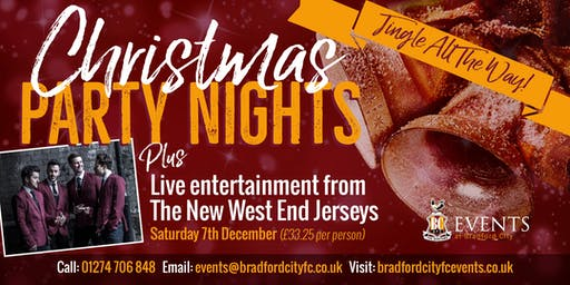 New West End Jerseys Christmas Party Night