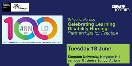 Celebrating Learning Disability Nursing: Partnerships for Practice tickets