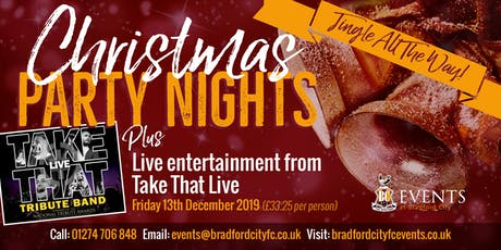 Take That Live Christmas Party Night tickets