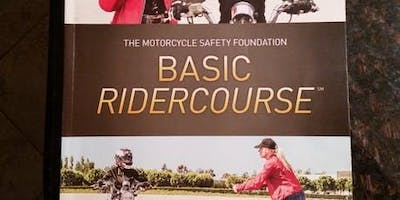 BRC1#402PM 6/4, 6/8 & 6/9 (Tues night classroom session with Sat & Sun AFTERNOON riding sessions)