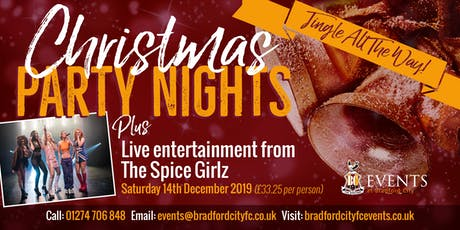 The Spice Girlz Christmas Party Night tickets