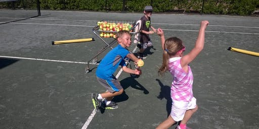 12 and Under Beginner Tennis Class