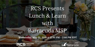 Lunch and Learn with Barracuda