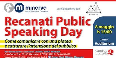 Recanati Public Speaking Day