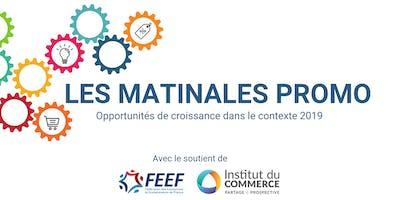 Les Matinales Promo : Opportunités de croissance