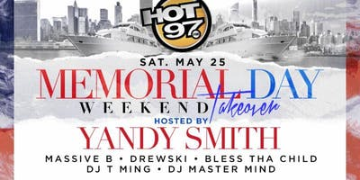 HOT 97 & Yandy Smith Memorial Weekend Yacht Party