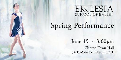 Ekklesia School of Ballet Spring Performance