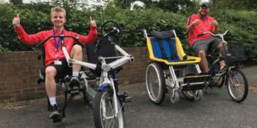 Adapted bikes @ The Parks Sports Centre