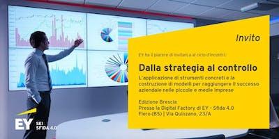 Dalla strategia al controllo - Business Model Canvas, la strategia si fa snella