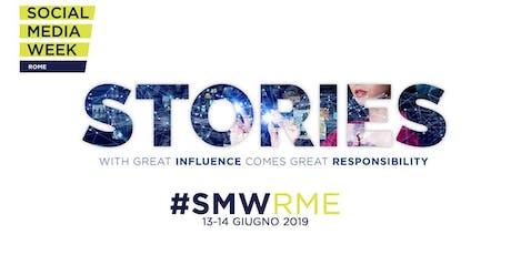 Social Media Week Rome biglietti