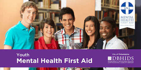 Youth Mental Health First Aid Training @ Tabor Children's Services tickets