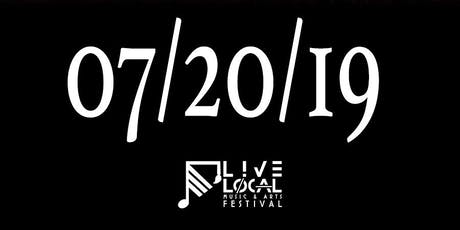Live Local Music and Arts Festival III 2019 tickets